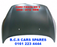 FORD FIESTA MK 8   BONNET    2008  - 2009 - 2010   NEW  NEW